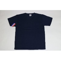 CAMBER / MAX WEIGHT POCKET S/S TEE NAVY キャンバー ショート Tシャツ 半袖 Vネック
