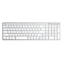 Satechi サテチ Bluetooth ワイヤレススマートキーボード (白 / Mac) Wireless Keyboard White ST-BWSKMS【送料無料】