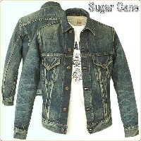 Sugar Cane シュガーケーン Gジャン 14oz SUGAR CANE FIBER DENIM LONE STAR JKT 1 Star MODE