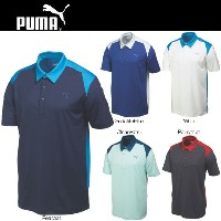 PUMA(プーマ)569107 BLOCKED POLO GOLF SHIRT(ブロックドポロ)(US)