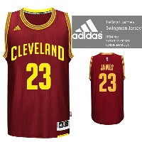 adidas Cleveland Cavaliers NBA LeBron James Swingman Jersey Authentic MAROON バスケ レプリカ ユニフォーム ジャージ...