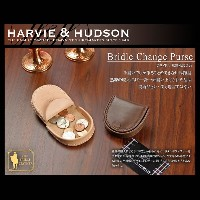 Harvie and Hudson 馬蹄型小銭入れ ベージュ HA-1008-BE【KK9N0D18P】