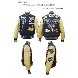 "WHITESVILLE ホワイツビルAWARD JACKT FULL DECORATION""Football"" WV13365-128-15AW2015年モデル「NC」"