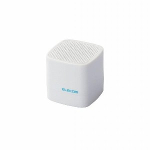 エレコム Compact Wireless Speaker LBT-SPCB01AVWH [LBTSPCB01AVWH]