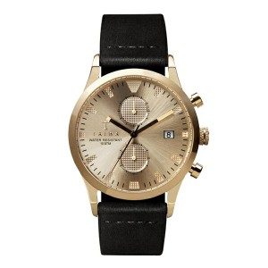 TRIWA WATCH SORT of BLACK GOLD CHRONOGRAPH(LCST109-ME021313 ゴールド)