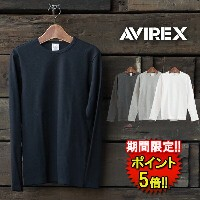アビレックス【AVIREX】 AV DLY TRECO CREW L/S (6153481) Men's 4colors □