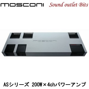 【MOSCONI】モスコニGLADEN AS 200.4 200W×4chパワーアンプ
