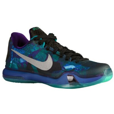 "ナイキ メンズ バッシュ コービー Nike Kobe X 10 ""Overcome"" University Emerald Glow/Court Purple/Reflective Silver"