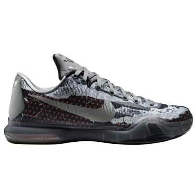 "Nike Kobe X 10 ""Pain""メンズ Tumbled Grey/Night Silver/White/Black ナイキ コービー バッシュ"