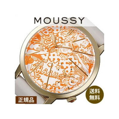 MOUSSY時計 マウジー腕時計 MOUSSY 腕時計 マウジー 時計 オリエント ORIENT ビッグ ケース MOUSSYBig Case[ギフト プレゼント ご褒美][おしゃれ 腕時計]...