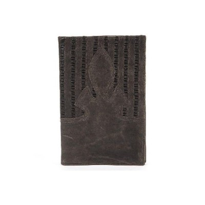 CHROME HEARTS NOTEPAD LASERED GREY LEATHER クロムハーツ ノートパッド