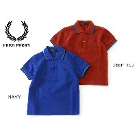FRED PERRY CHILD DRENS POLO SHIRT■SY1200_7-MG【 キッズ&ベビー トップス ポロシャツ 半袖 ギフト プレゼント フレッドペリー】■4013935【16s...