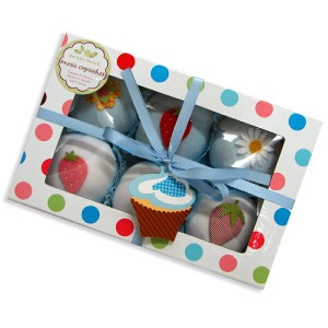 The Baby Bunch 6cupcakes ロンパース