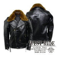【WESTRIDE ウエストライド】レザージャケット/WEST GLOVE LEATHER HIGHWAY JKT★送料・代引き手数料無料!REAL DEAL