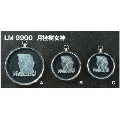 LMクリスタルメダル (高級別珍ケース入り) LM9900VC/A-1