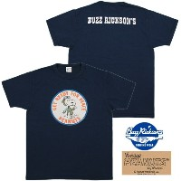 "BUZZ RICKSON'S×PEANUTS/バズリクソンズ×ピーナッツ S/S T-SHIRT""GET READY FOR PEACE"" ゲット レディー フォー ピースTEE/スヌーピープリントT..."