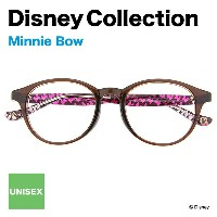 Disney Collection Happiness Line C-1A(ブラウン)【ディズニーコレクション/ミニーマウス/Minnie Mouse/Bow/ピンク/眼鏡/メガネ/めがね/ボストン...
