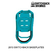 2013 SWITCHBACK スイッチバック バインディング SWITCHBACK BLUE ALGAE BASEPLATES