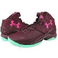 "Under Armour Curry 2 ""BHM""メンズ Dark Maroon/Antifreeze/Mojo Pink アンダーアーマー Stephen Curry ステフィンカリー バッシュ"