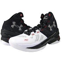"Under Armour Curry 2 ""Suit&Tie""メンズ White/Black/Metallic Silver アンダーアーマー Stephen Curry ステフィンカリー バッシュ"