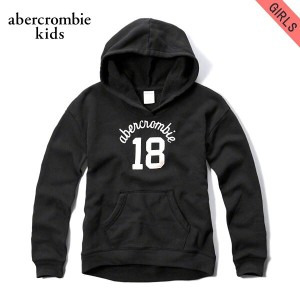 【15%OFFセール 5/25 10:00~5/30 23:59】 アバクロキッズ AbercrombieKids 正規品 子供服 ガールズ パーカー shine applique logo...