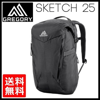 【30%OFF vic2セール】 グレゴリー GREGORY Sketch 25 TrueBlack [サツマ][25L]
