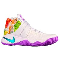 "Nike Kyrie 2 ""Easter"" メンズ White/Urban Lilac/Bright Mango/Hyper Jade ナイキ カイリー2 Kyrie Irving カイリー..."