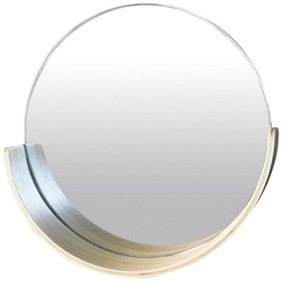 CURL WALL MIRROR NATURAL sp-wkm104na