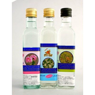 チュニジア産 食用フラワーウォーター 3種セットEau de Fleur Comestible/Edible Flower Water(Rose, Orange Flower, Geranium...