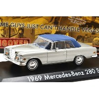 "GREENLIGHT HOLLYWOOD 1:43SCALE ""THE HANGOVER"" ""1969 MERCEDES-BENZ 280 SE"" (CLOSED WITH TIGER)..."