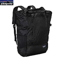 Patagonia パタゴニア LW Travel Tote Pack ライトウェイトトラベルトートパック 22L (BLK):48808