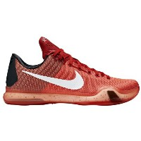 "Nike Kobe X 10 Low ""Major"" メンズ University Red/White/Bright Crimson ナイキ コービー バッシュ"