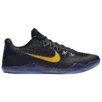 "Nike Kobe 11 Low ""Carpe Diem"" メンズ Black/White/Court Purple/University Gold ナイキ バッシュ コービー11 Kobe..."