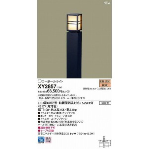 XY2857 パナソニック ポールライト LED