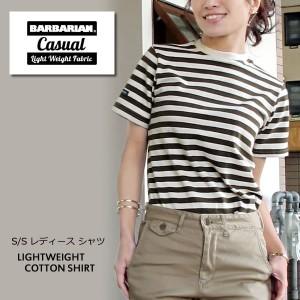 【S】Barbarian #GCNBLNC S/S Tシャツ 半袖 レディースCLIENT MIX 〔TB〕