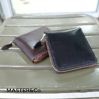MASTER&Co.(マスターアンドコー) / UK Bridle Leather Wallet -BROWN-