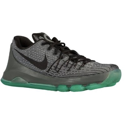 Nike KD VIII 8 メンズNight Silver/Tumbled Grey/Green Glow/Deep Pewter ナイキ バッシュ ケビン・デュラント