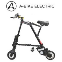 AI-484 A-bike electric 電動アシスト(前輪ノーパンク、後輪チューブ)