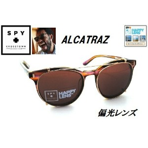 ★SPY★スパイ★CROSSTOWN ALCATRAZ★PINKSUNSET-HAPPY BRONZE(ROSE GOLD CLIP)★サングラス