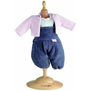 "コロール ドールファッション Corolle Classic 14"" Baby Doll Fashions (Denim Set)"