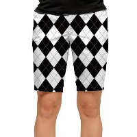 LoudMouth Ladies Black & White Short (#WS)【ゴルフ レディース>パンツ】