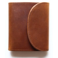 Whitehouse Cox 『ホワイトハウスコックス』SETTLER 『セトラー』 正規取扱店 ミニ3つ折りウォレット OW-1058-Small 3 Fold Wallet-Brown