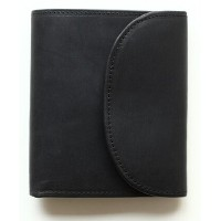 Whitehouse Cox 『ホワイトハウスコックス』SETTLER 『セトラー』 正規取扱店 ミニ3つ折りウォレット OW-1058-Small 3 Fold Wallet-Black