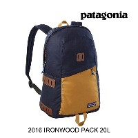 2016 PATAGONIA パタゴニア バックパック IRONWOOD PACK 20L NVYB NAVY BLUE
