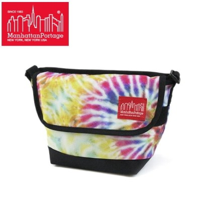 マンハッタンポーテージ 限定 メッセンジャー バッグ MP1603TD Manhattan Portage Tie Dye Print Fabric Casual Messenger Bag...