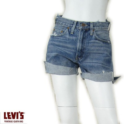 LEVI'S VINTAGE CLOTHING 501ZXX 1954年モデル レディース カットオフショーツ Rough and Ready 54660-0002