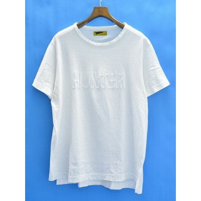 【中古】 HURRAY HURRAY (フレイフレイ) Solid Embroidery T-shirts 半袖Tシャツ 2 WHITE 14AW