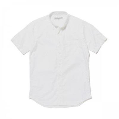 ★INDIVIDUALIZED SHIRTS (インディビジュアライズドシャツ)★Cambridge Oxford MENS / New Standard Fit Short Sleeve半袖ボタンダ...