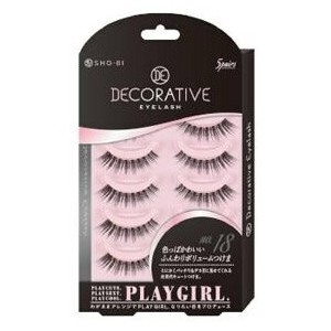 DECORATIVE EYELASH PLAY GIRL 上まつ毛用 No.18 SE85550