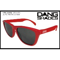 DANG SHADES SWITCH GLOSS RED x BLACK vidg00115 カラーレンズ トイサングラス